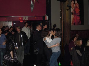 dancing at Drom