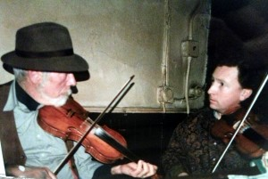Dan Collins with Frankie Gavin, in 1977. Courtesy of Iris Nevins.