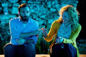 Will Forte and Maxine Peake toking and teetering on the brink of an affair.