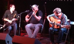 Ivan Goff, Tony DeMarco, Eamonn O'Leary at New York Trad Fest
