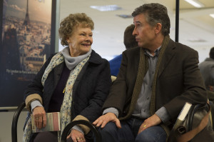 JUDI DENCH and STEVE COOGAN star in PHILOMENA Photo: Alex Bailey � 2013 The Weinstein Company.