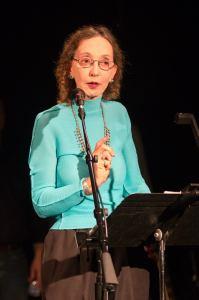Joyce Carol Oates at Irish Arts Center's Muldoons Picnic Oct 2014_Photo Credit Amanda Gentile