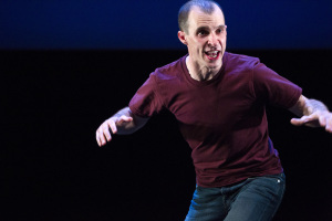 Tom Vaughan-Lawlor in Mark O'Rowe's Howie the Rookie  ©Patrick Redmond