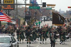The Newark St. Patrick's Day Parade, 2014 ©Adam Anik/Newark St. Patrick's Day Parade